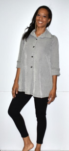 449 Front/Back Buttoned Jacket