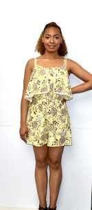 1154 Yellow Romper