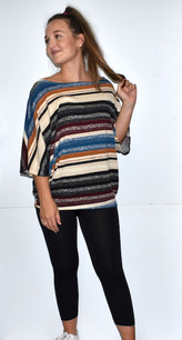 83809 Haci Striped Top