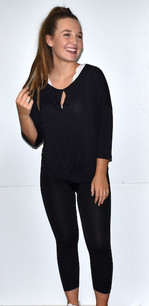 17341 Black Knot Front Solid Top