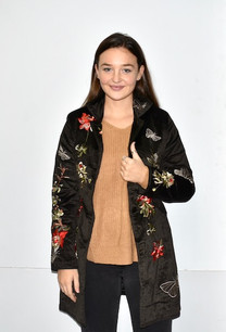 4182 Black Embroidered Jacket