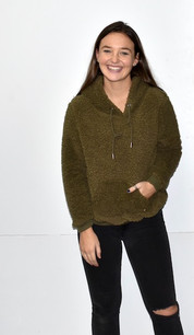 1988 Olive Sherpa Pull-Over Top