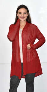 80054 Red Sparkle Jacket