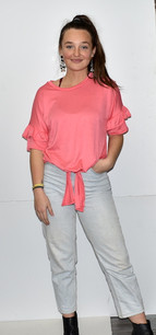 3902 Pink Knot Front Top