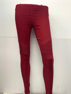 MT-01 Burgundy Jegging