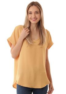 17262 Yellow Slab Fabric Top