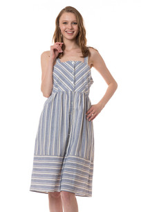 3395 Striped Tank Dress