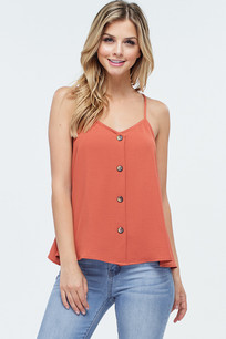 4129 Light Rust Button Tank