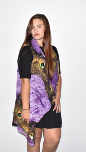 KV-09 Purple Peacock Vest