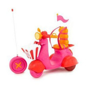 Lalaloopsy RC Scooter 40 MHz Orange Seat