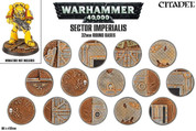 Games Workshop Warhammer 40,000 Sector Imperialis Round Bases 32 mm