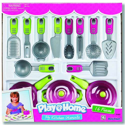 Keenway Play At Home My Kitchen Utensils