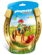 Playmobil 6968 Country Groomer with Bloom Pony