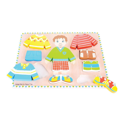 Bigjigs Toys Dressing Boy Puzzle