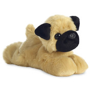 "Aurora World 8"" Plush Mini Flopsies Pug"