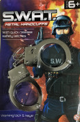 SWAT Metal Handcuffs (With Safety Release)
