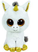 TY Boo Buddy Pegasus The Unicorn - 24cm