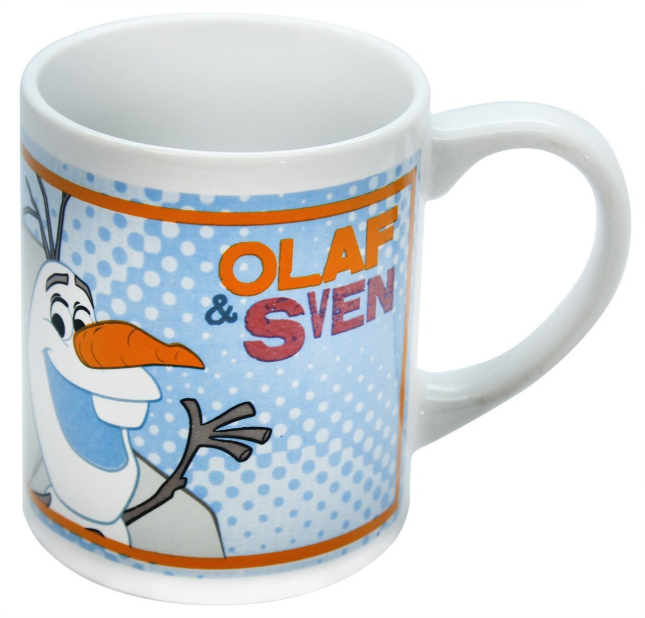 Ceramic Sven Children's Mug Frozen 8oz Disney Olafamp; P8nk0Ow
