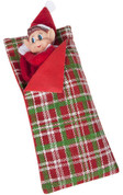Elves Behavin' Badly - Elf Sleeping Bag with Pillow