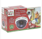 Elf Surveillance Dummy CCTV Camera Christmas Accessory With LED Light