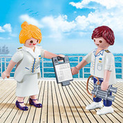 Playmobil 9216 Duo Pack Cruise Ship Officers