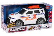 Teamsterz Light and Sound Ambulance Vehicle Toy, 4 x 4