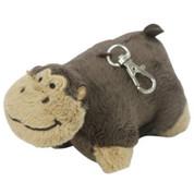 Pillow Pet Key Tag Monkey