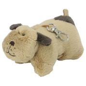Pillow Pet Key Tag Puppy