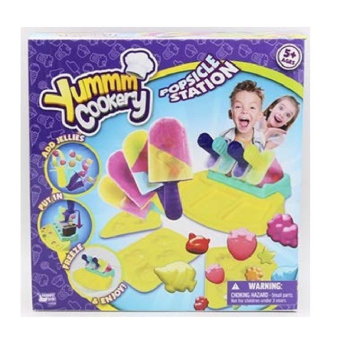 Yummm Cookery Popsicle Station Ice Pop Lolly Maker