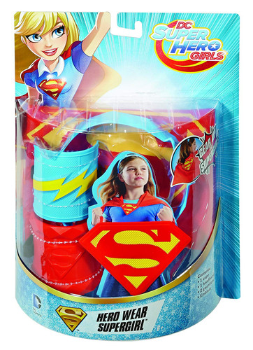 DC Comics DWH61 Super Hero Girls Mission Gear Roleplay Costume With Cape