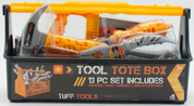 Tuff Tools Tote Carry Tool Box With Tools 13 Pce Set