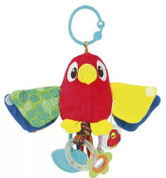 Little Pals Parrot Teether Rattle