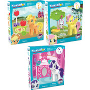 K'NEX Tinkertoy My Little Pony - Fluttershy, Vanity, Applejack Assortment (One Supplied)