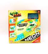Happy Line Light Trax - Neon Track Kit Glow In The Dark Racing Set
