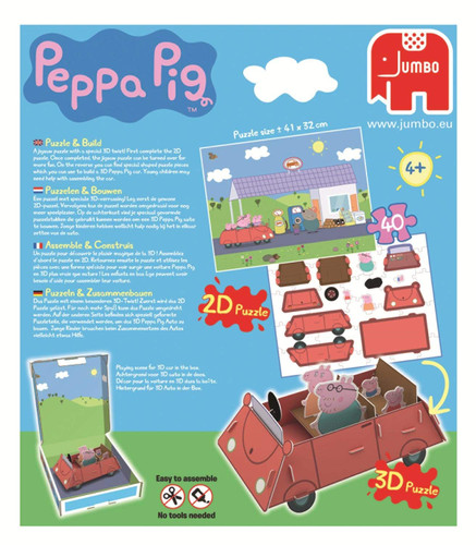 Peppa Pig Peppa Pig Puzzle and Build