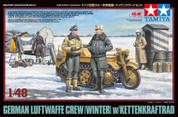 Tamiya 32412 Luftwaffe & Kettenkraftrad 1:48 Model Kit