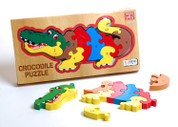 Ackerman DELUXE WOOD CROCODILE PUZZLE