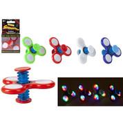 Spinnerooz Light Up Bouncing Spinner
