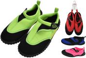 Nalu Aqua Shoes Size 6 Adults - 1 Pair Assorted Colours