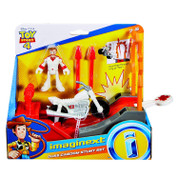 "Disney Pixar Toy Story 4  Imaginext figure and ""ring of fire"" set!"