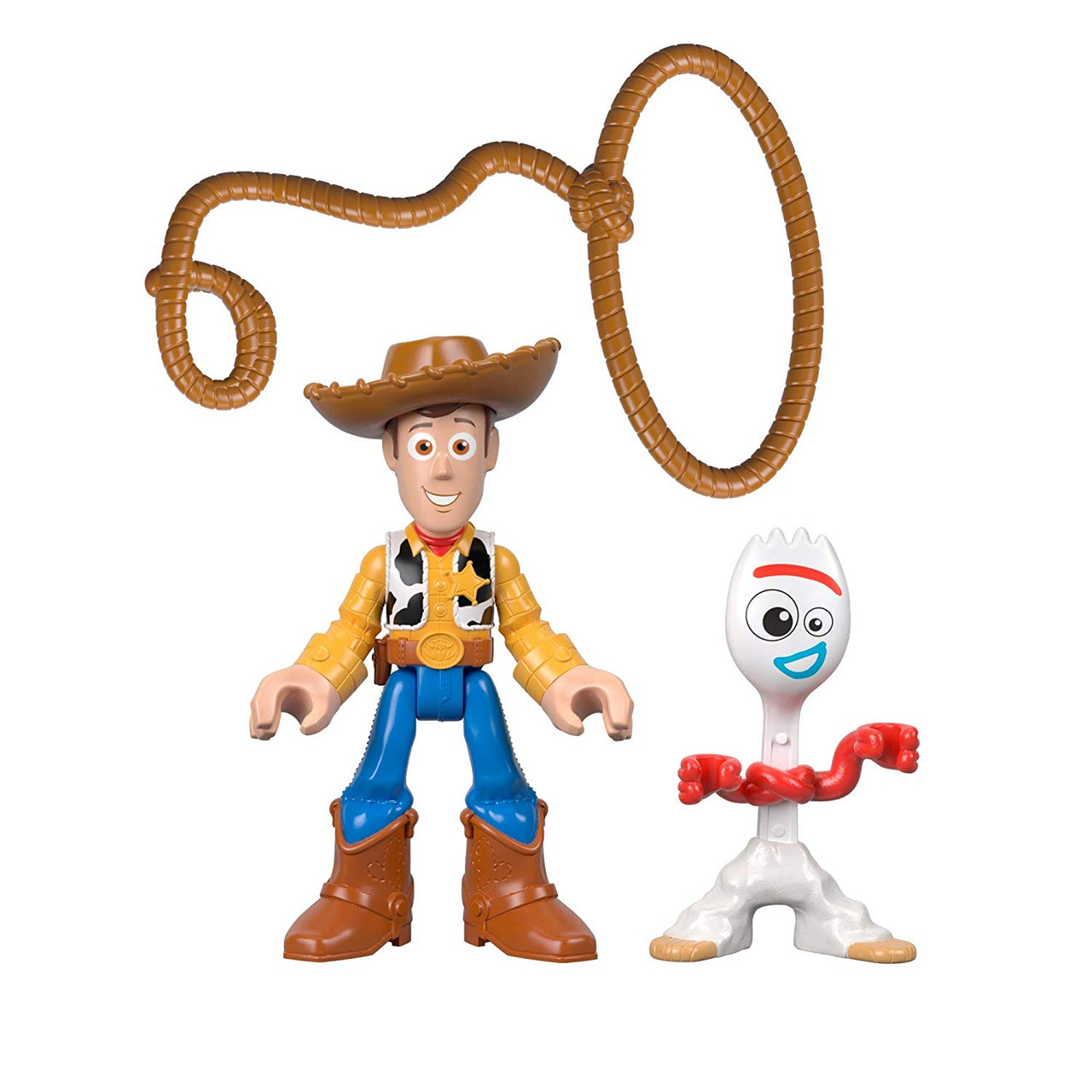 Imaginext Toy Story Twin Pack-Woody /& Bullseye