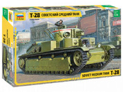 Zvezda Z3694 1/35 T-28 Soviet Medium Tank