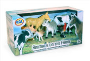 Animals On The Farm Figure Set