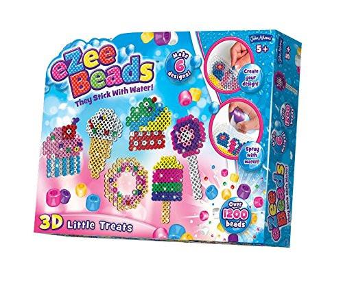 "John Adams ""Ezee Beads 3D Little Treats"" Craft (Multi-Colour)"