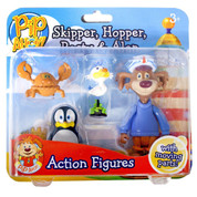 Pip Ahoy! Skipper, Hopper, Pasty and Alan Figures