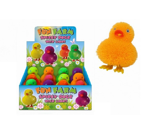 12 Spikey Ducks With Light In Display Box