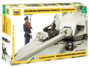 Zvezda 3685 1:35 Russian Contemporary Tank Crew Plastic Model Kit