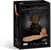 Paul Lamond Game of Thrones Kings Landing 262 Piece 3D Jigsaw Puzzle