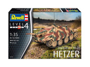 Revell 3272 Jagdpanzer 38 (T) Hetzer , Green, 1:35 Plastic Model Kit