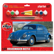 Airfix A55207 1:32 Scale Volkswagen Beetle Starter Set Model Kit